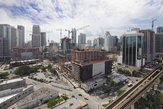 A construction site image